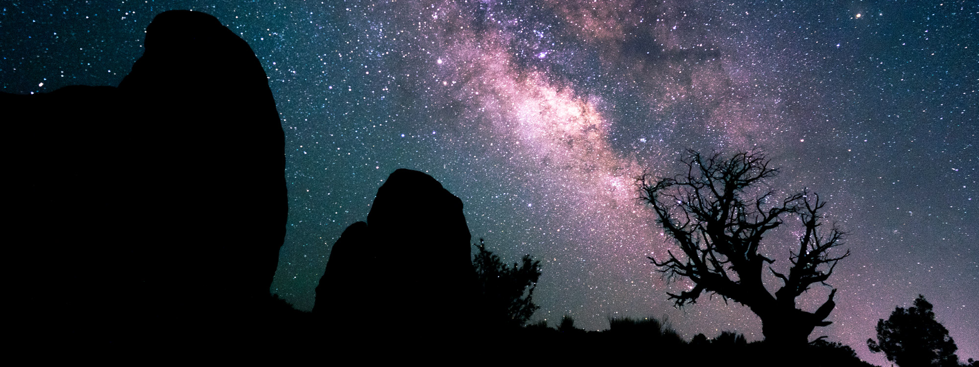 Utah Night Sky Milky Way Slider